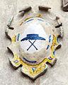 Palazzo vicariale di certaldo, stemma 06 cappello.JPG