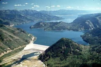 Palisades Dam - Palisades Dam and Reservoir