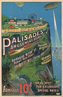 Palisades Amusement Park Amusement park in Bergen County, New Jersey, United States