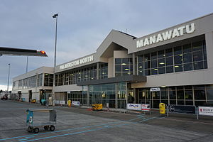 Palmerston North Airport - Palmerston North Airport Terminal Building, June 2015