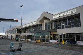 Palmerston North Airport - Palmerston North Airport Terminal Building, June 2015
