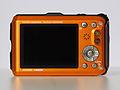 Panasonic Lumix DMC-TS3 (orange, back view).JPG