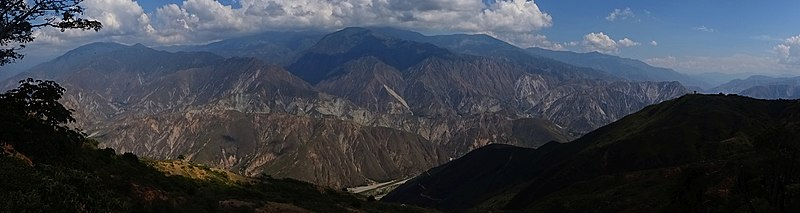 File:Panorama Chicamocha Canyon, Santander.jpg