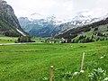 Panorama Innergschlöß im Nationalpark Hohe Tauern mit Venedigergruppe, Osttirol.jpg