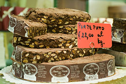 Panpepato at a shop in San Gimignano.jpg