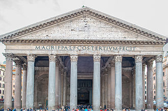 Western world - The Pantheon, Rome, Italy