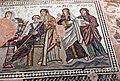 Paphos Haus des Theseus - Mosaik Achilles 3 Moiren.jpg