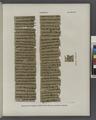 Papyrus. Hieratischer Papyrus. No. IV, Lin. 84-143. (jetzt im K. Museum zu Berlin.) (NYPL b14291191-44343).tiff