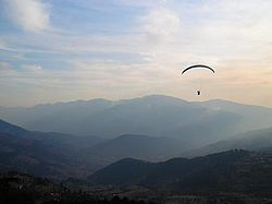 Paragliding at Patnitop
