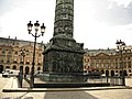 Paris, France. Place Vendome. COLONNE VENDOME (Lower part-2) (PA00085790).jpg