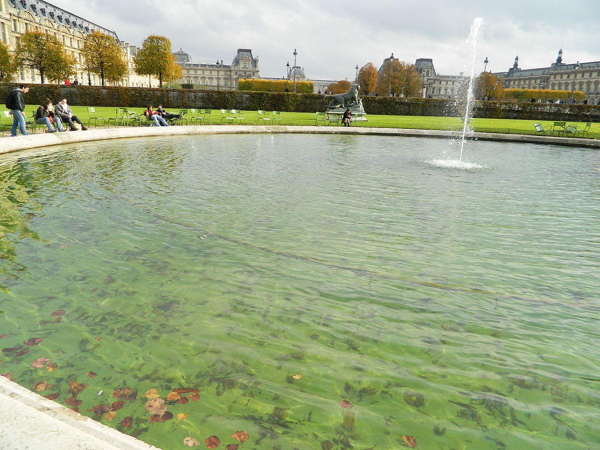 Bassin Fontaine De Jardin file:paris 75001 jardin des tuileries - grand bassin rond