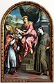 Paris bordon, madonna col bambino in trono tra iss. enrico d'uppsala e antonio da padova, 01.jpg