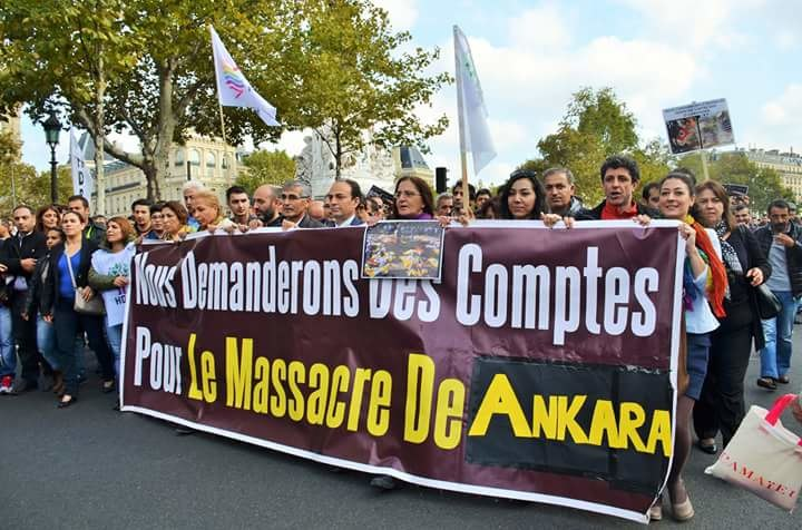 Paris protest 2015 Ankara bombings (1)
