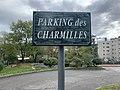 Parking des Charmilles, panneau à Belley.jpg