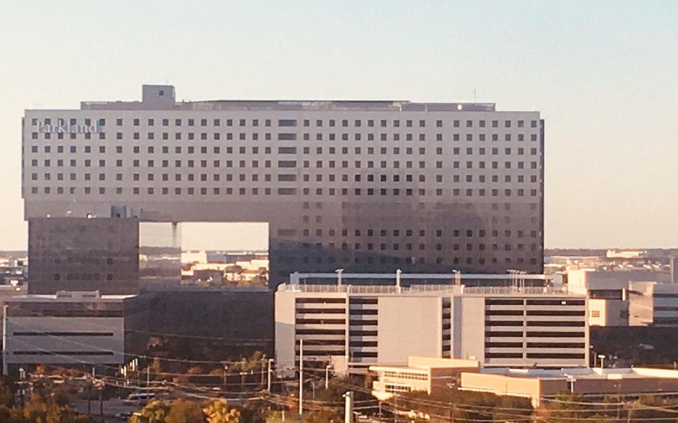 Parkland southern facade