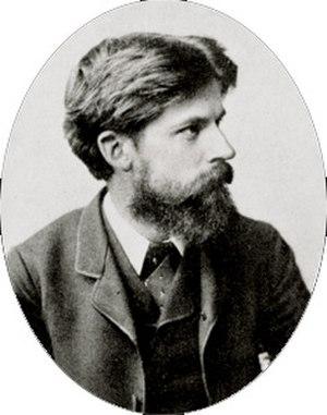 Patrick Geddes - Patrick Geddes circa 1886