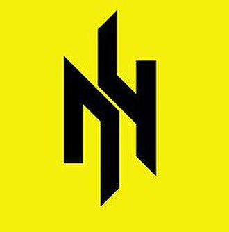 "Patriot of Ukraine - Patriot of Ukraine's alternative emblem: runic monogram created of the initial Cyrillic letters ""П"" and ""У"""