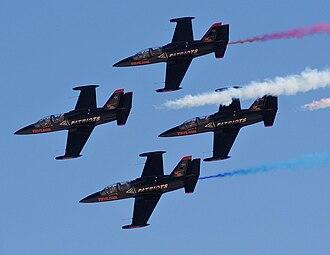 Patriots Jet Team - Patriots at 2009 Aviation Nation