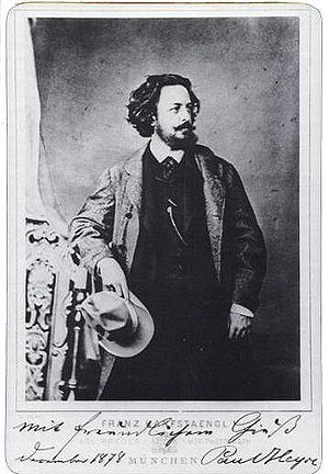 Paul Heyse fotografiert von Dezember 1878
