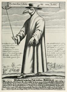 L'abito del medico della peste.