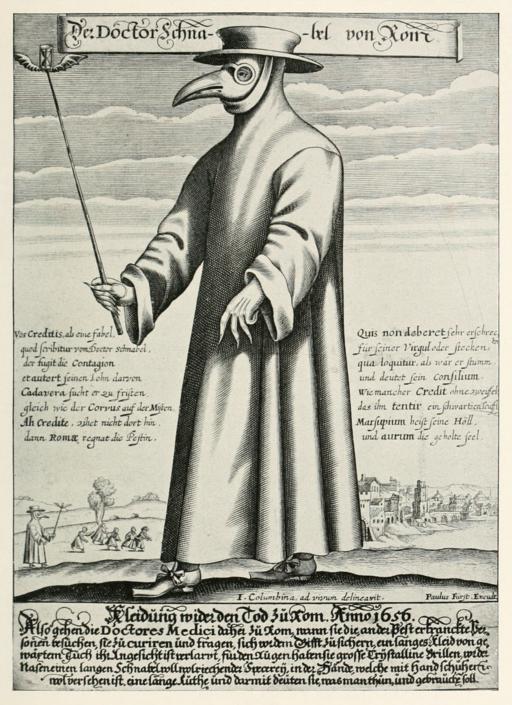 Paul Fürst, Der Doctor Schnabel von Rom (Holländer version)