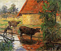 Paul Gauguin - L'Abreuvoir I (1885).jpg