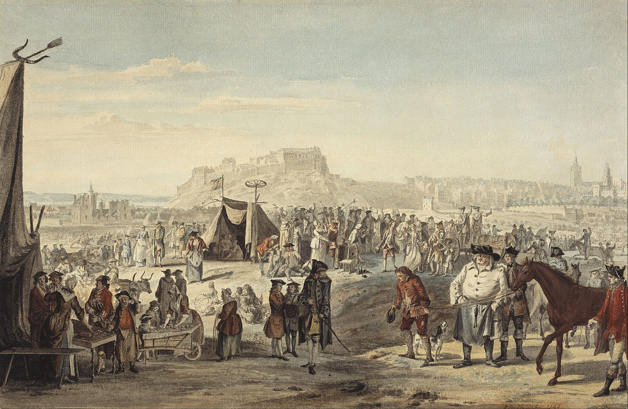 Paul Sandby - Horse Fair on Bruntsfield Links, Edinburgh - Google Art Project.jpg