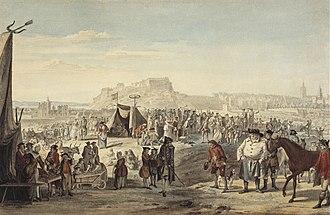 Horse fair - Image: Paul Sandby Horse Fair on Bruntsfield Links, Edinburgh Google Art Project