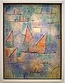 Paul klee, porto con navi a vela, 1937.JPG
