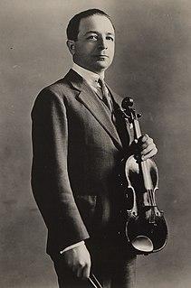 Paul Kochanski Polish violonist