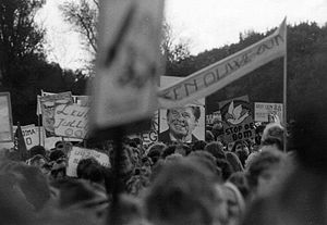 Hollanditis - The peace demonstration of 29 October 1983 in The Hague was the biggest ever organised in the Netherlands.