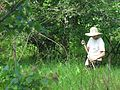 Pearson wearing white hat in forest.jpg