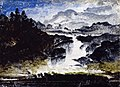 Peder Balke - A Waterfall - NG.M.01459 - National Museum of Art, Architecture and Design.jpg