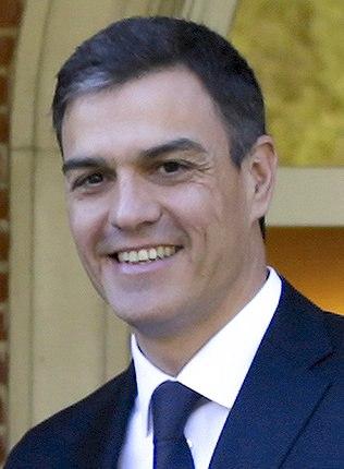 Pedro Sánchez in 2018