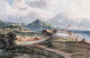 Mount Erskine - Mount Erskine in 1824