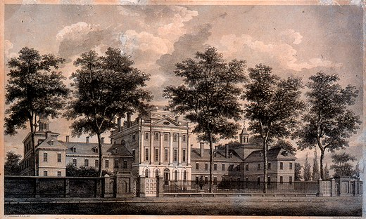 Pennsylvania Hospital by William Strickland, 1755 PennsylvaniaHospitalWilliamStrickland.jpg
