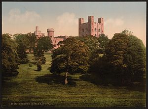 Penrhyn Castle - Penrhyn Castle between 1890 and 1900
