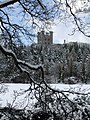 Penrhyn Castle in the snow. - geograph.org.uk - 666686.jpg