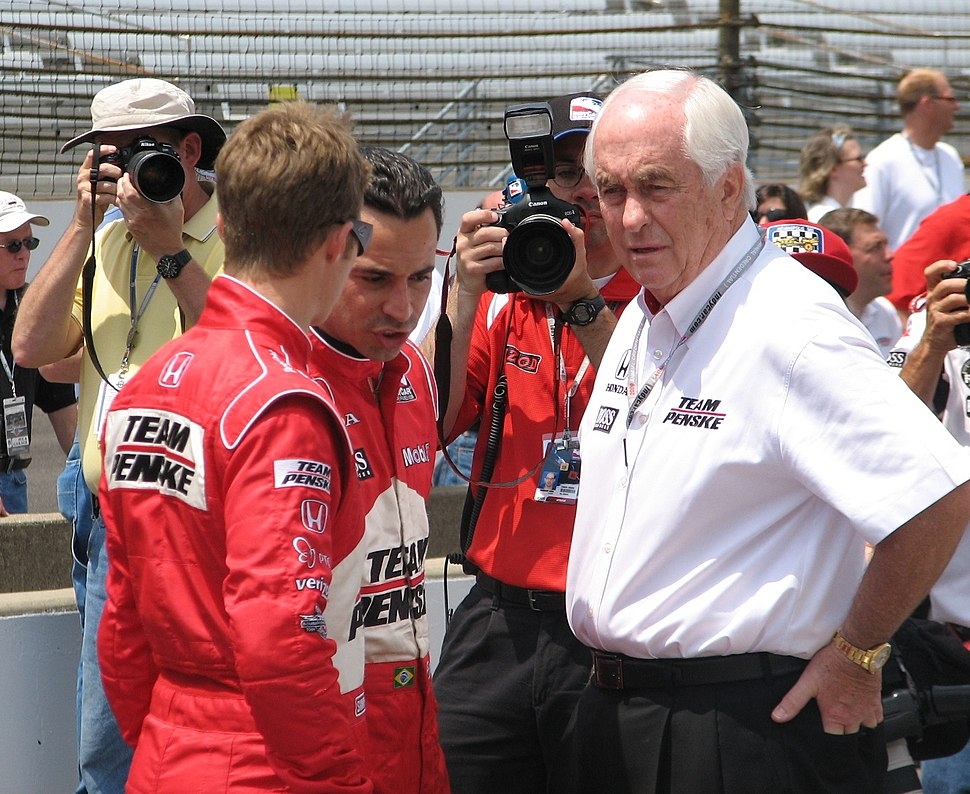 Penske Racing 2009 Indy 500 Carb Day