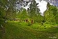 Penttilänkoulun pihapiiriä, Taidepiha - panoramio.jpg