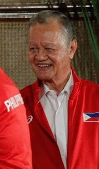 """Philippine Olympic Committee - Jose """"Peping"""" Cojuangco Jr., the president of the POC since January 2005."""