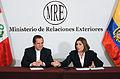 Perú y Ecuador clausuran XII Reunión de la Comisión de Vecindad (9792346315).jpg