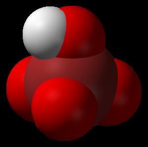Perbromic acid - Image: Perbromic acid 3D vd W