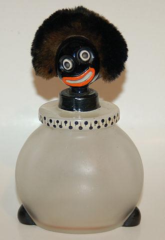 Golliwog - A 1920s golliwog perfume bottle