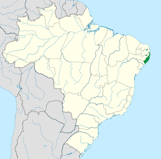 Pernambuco coastal forests - Image: Pernambuco coastal forests WWF