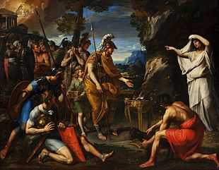 Aeneas and the Cumaean Sibyl.