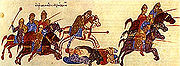 Persecution of Russ by the Byzantine army John Skylitzes