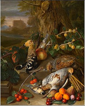 Pieter Snyers - Still life with dead game