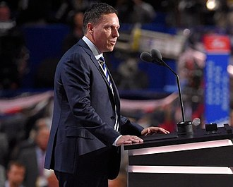 Peter Thiel - Thiel speaking at the 2016 Republican National Convention