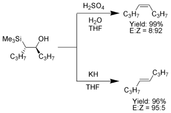 Example of the Peterson olefination